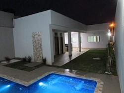 RUA 8 CHACARA 211 Vicente Pires Vicente Pires   CASA DE ALTO PADRÃO NOVA, 3 SUITES, CHURRASQ, PISCINA 98102-9032