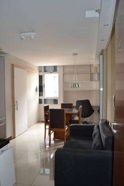 SGCV Setor Industrial Guará   Park Sul 2 Quartos com suite, semi mobiliada.