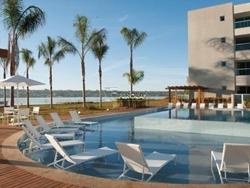 SCES Trecho 4 Asa Sul Brasília   Flat no Brisas do Lago, Ágio mobiliado! 061 98270-9700